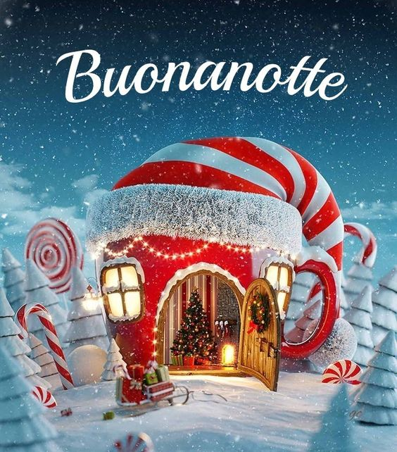 Natale buonanotte immagini nuove gratis WhatsApp Facebook bacionotte dolci sogni